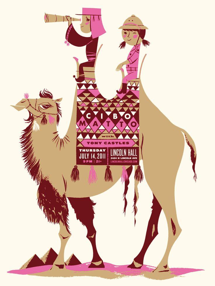 Cibo Matto Poster | Illustrator: Anne Benjamin