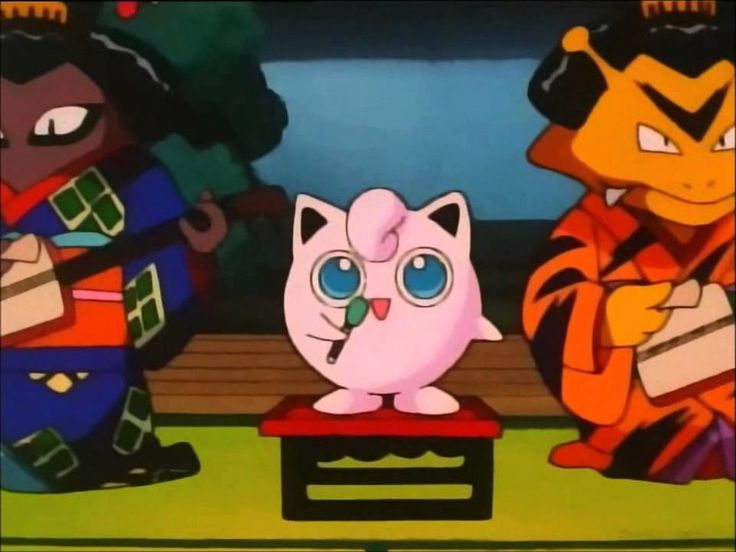 Jigglypuff's singing Jigglypuff's song