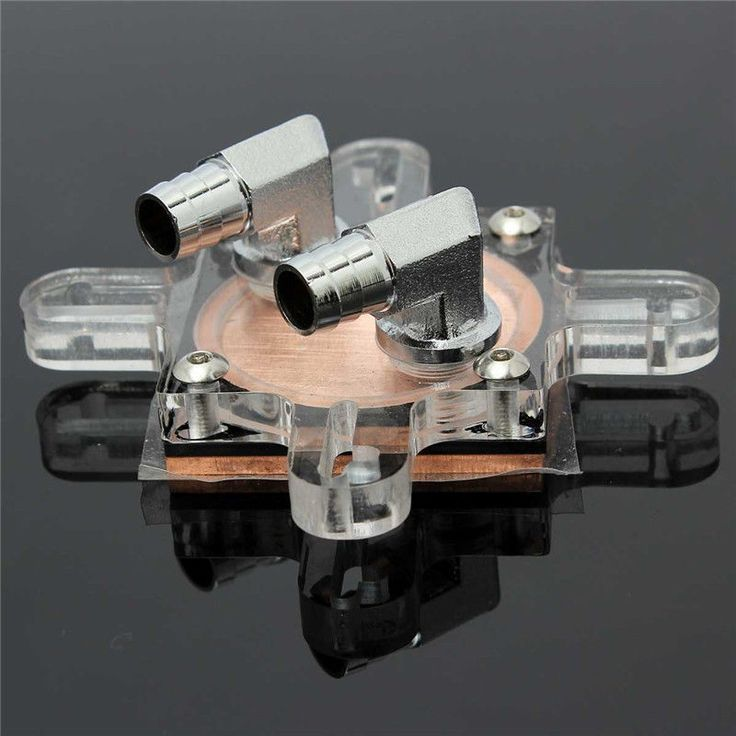 Water Cooling CPU Block 74x70 Copper Base Cool Inner Channel For AMD INTEL HOT