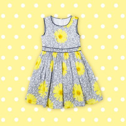 Pumpkin Patch Floral Dress - available in sizes 12-18m to 6 years http://www.pumpkinpatchkids.com/