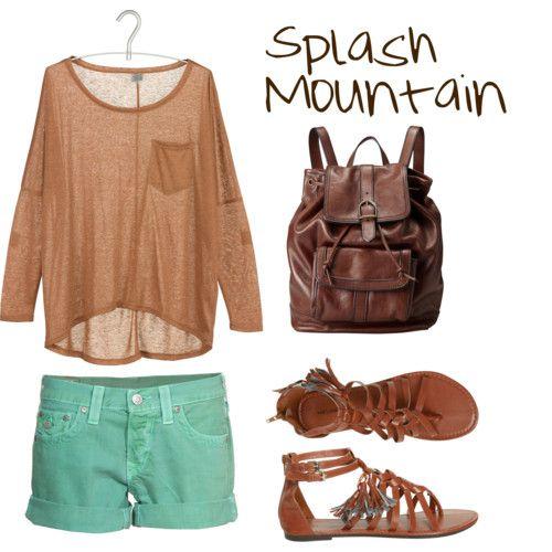 Inspired by Disneyland ride Splash Mountain. Super Cute.