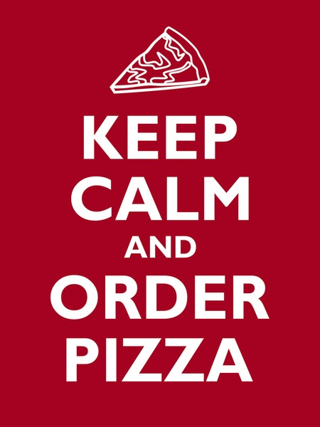 Keep Calm & Order PATSY'S Pizza!