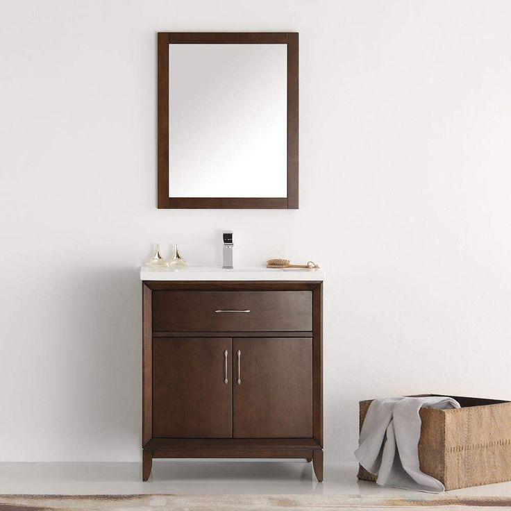 Fresca Cambridge 30 inch Traditional Single Bathroom Vanity FVN2130