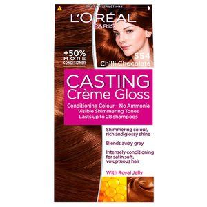 L'Oreal Casting Creme Gloss Chilli Chocolate 554