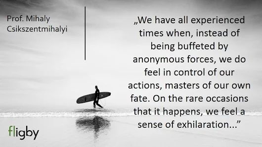 Control of actions by Mihaly Csikszentmihalyi
