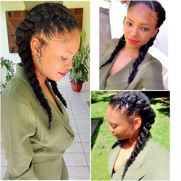 B C Natural Hair Styles