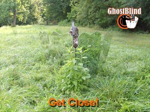 Ghost blind official site mirror hunting blind mirror for Mirror hunting blinds