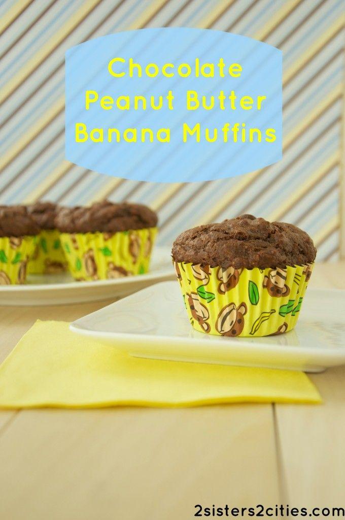 muffins peanut butter bananas breakfast muffins chocolates peanut ...