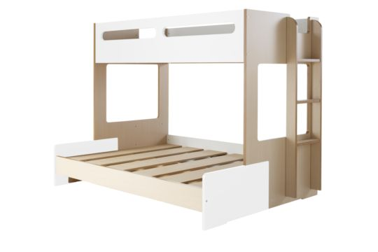 Charlie Combo Bunk Frame. Get it now at your nearest Snooze store, your one-stop destination for bedding, bedroom furniture & mattresses.