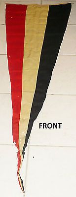 Rare wwi wwii or #earlier military german flag #banner pennant #germany,  View more on the LINK: http://www.zeppy.io/product/gb/2/321242208030/