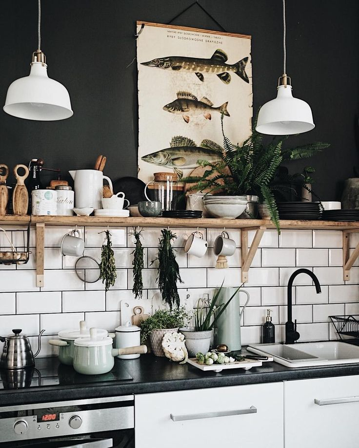 30 Fun and Fresh Decor Ideas to Make Your Kitchen Wall Looks Amazing