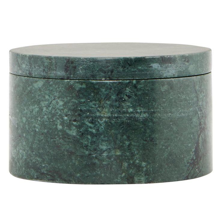 Marble ask, grön marmor – House Doctor – Köp online på Rum21.se