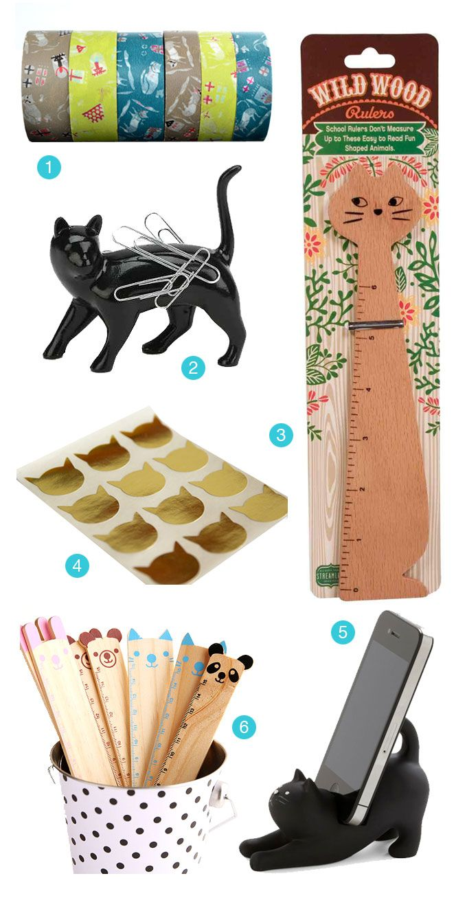 Back to School: Cat Edition. We've curated over 20 of the most purr-fect back-to-school items for all cat lovers.