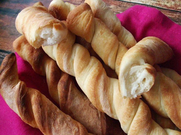 pyszne paluszki chlebowe, zawijane, prosty przepis,