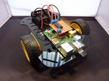 Crea un robot móvil con un Raspberry Pi y £32.99