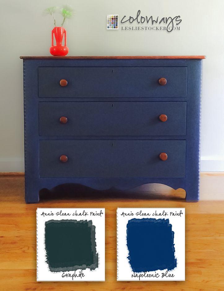 23 Best Chalk Paint Napoleanic Blue Color Inspiration Images On