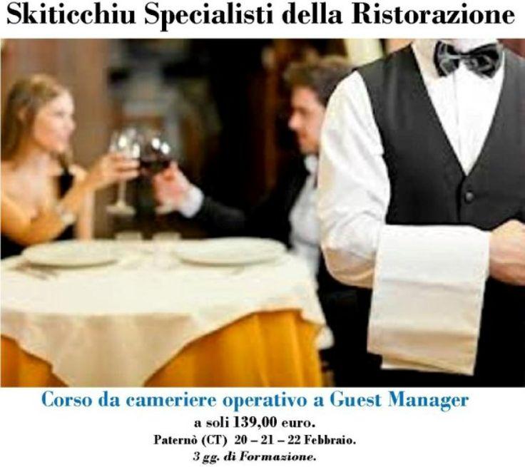 Corso da cameriere operativo a Guest Manager