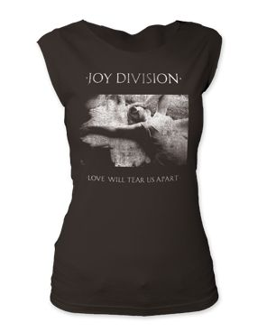 Joy Division - Love Will Tear Us Apart Tee - Soft & Fitted