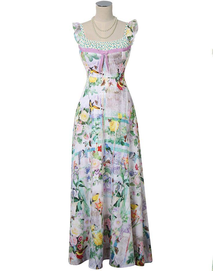 Pretty Birdie Maxi Dress