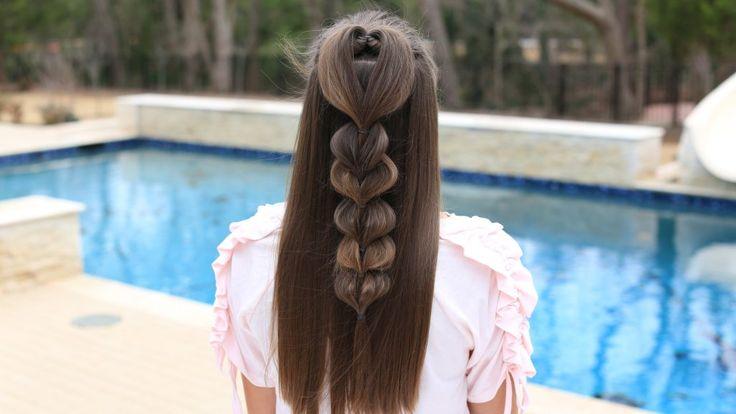 Heart Pull-Thru Braid | Cute Girls Hairstyles