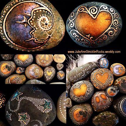 San Diego Artist www.JulieAnnStricklinRocks.weebly.com