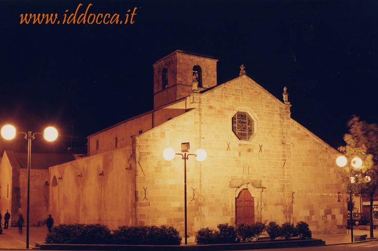 The church of San Sebastiano Martire... in the night!