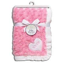 Baby Starters Plush Swirl Blanket, Pink « Clothing Impulse