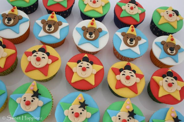 Bumba Cupcakes