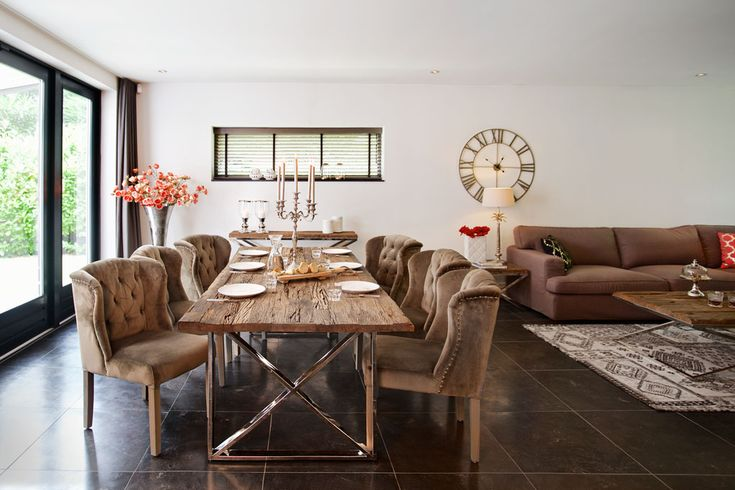 22 Best Chairs For Round Glass Table Images On Pinterest