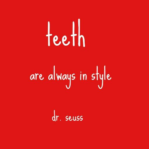 Love this Dr. Suess quote!