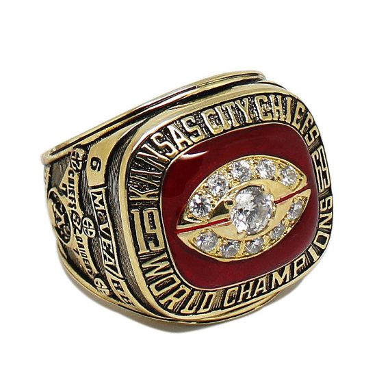 Kansas City chiefs 1969 Championship Ring