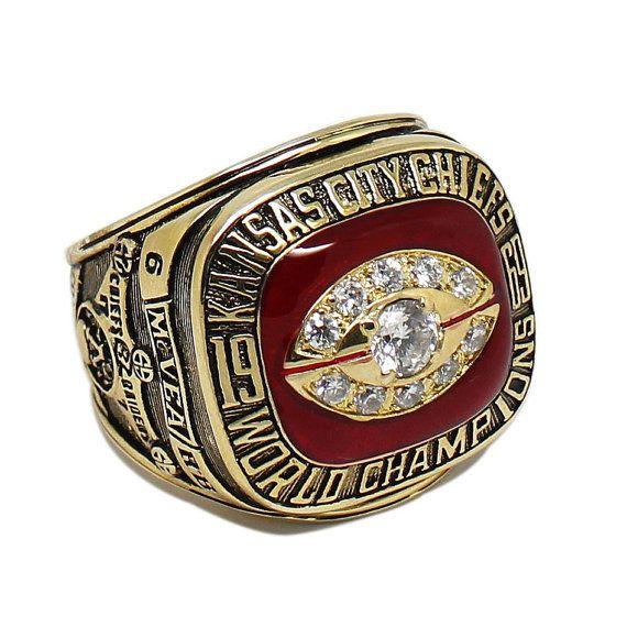 Kansas City chiefs 1969 Championship Ring