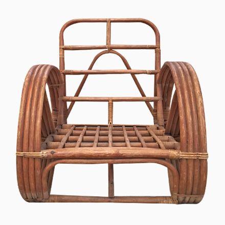 Runder Französischer Sessel Aus Bambus U0026 Rattan In Brezelform, 1950er Jetzt  Bestellen Unter: Https://moebel.ladendirekt.de/garten/gartenmoebel/gartenstuehle  ...