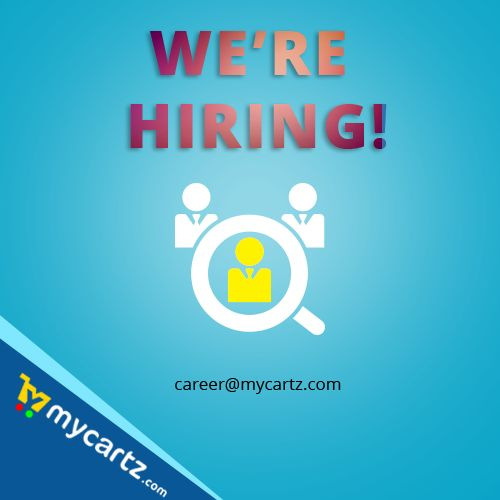 MyCartz is hiring freshers 2014/2015 pass out email : career@mycartz.com