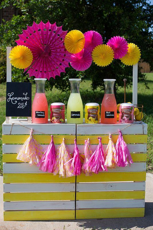 Diy Lemonade Stand Watermelon Lemonade Recipe Shop