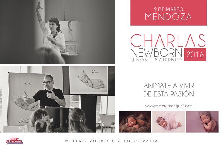 HOLA MENDOZA! Tour melero rodriguez - Charla NEWBORN, MATERNITY y NIÑOS 2016 *Córdoba - Jueves 4 de febrero - 19 a 22hs. (Quedan algunos lugares) *Buenos Aires - jueves 25 de Febrero - 19 a 22hs. Cupo *COMPLETO* *Mendoza - miércoles 9 de marzo - 19.30 a 22.30hs. Consultas inbox o al workshop@melerorodriguez.com melero rodriguez newborn photography © 2015