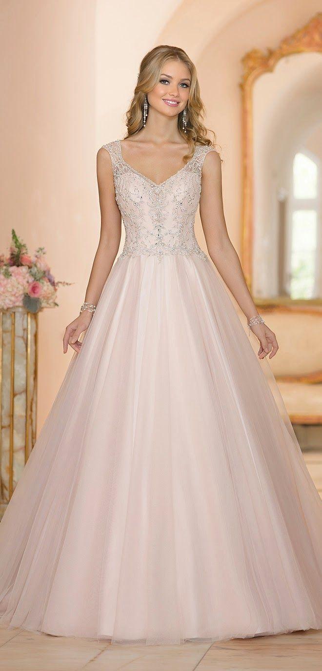 White gold wedding dress   best Wedding dress images on Pinterest  Bridal gowns Flower