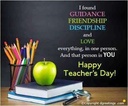 Teachers Da y quote......