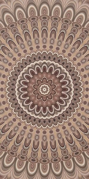 Cappuccino Mandala Art Print  #artprint #gifts #graphic