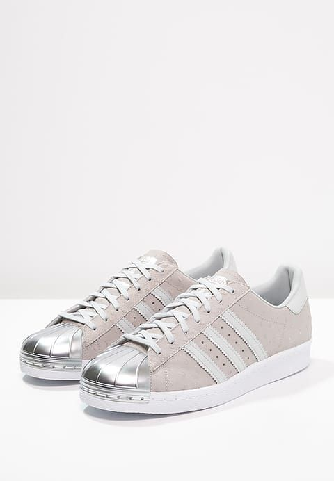 adidas originals superstar 80s baskets basses blush pink/offwhite
