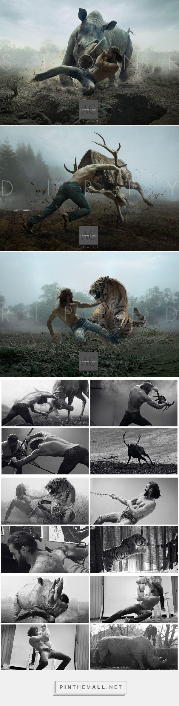 PRINT - Wild Process - Arturo Calle Jeans on Behance - created via https://pinthemall.net