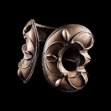 Massive-style brass armlet. Belhelvie, Aberdeenshire, Scotland, AD 50–150. © National Museums Scotland. British Museum - Art