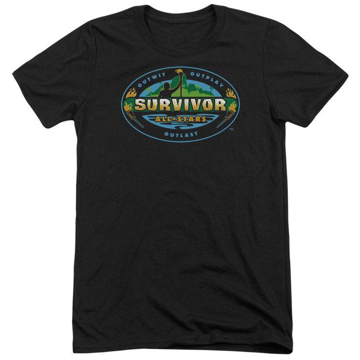 Survivor All Stars Adult Tri-Blend T-Shirt
