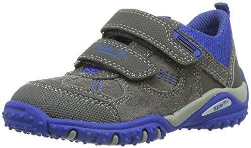 Superfit SPORT4 MINI – Zapatos primeros pasos para niño gris gris, color gris, talla 24 EU / 7 UK Kinder