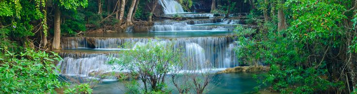 Erawan National Park - located in West Thailand in the Tenasserim Hills of Kanchanaburi Province