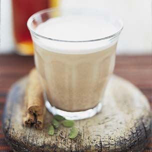 Chai Tea - count 15 grams for each teaspoon of honey, yum!