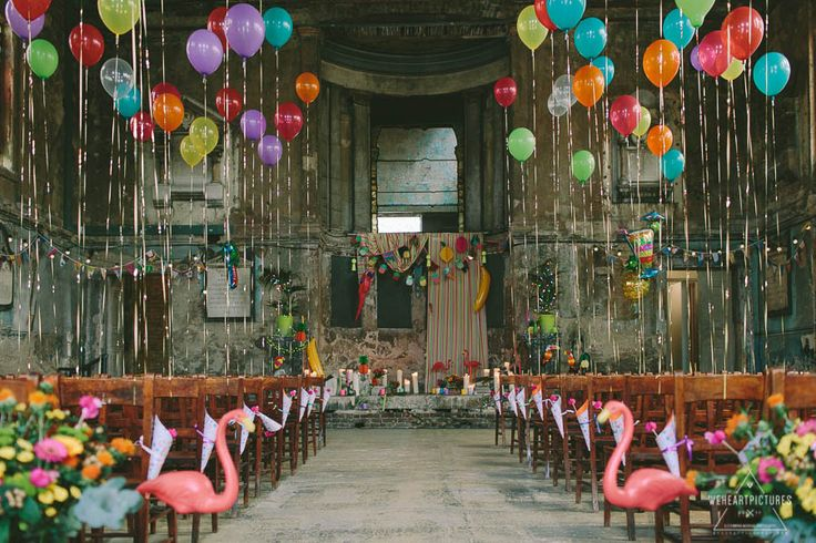 We Heart Pictures | Lucy+Ravi | Colourful Tropicana Wedding at the Asylum Chapel-Caroline Gardens