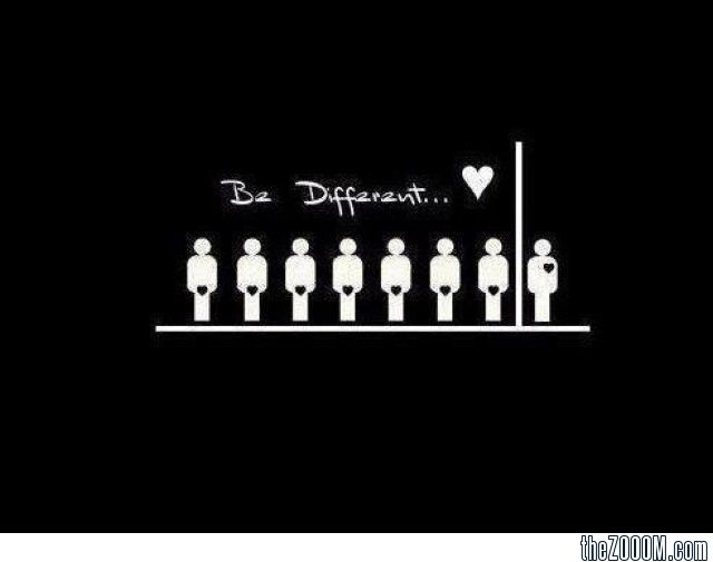 Be+different