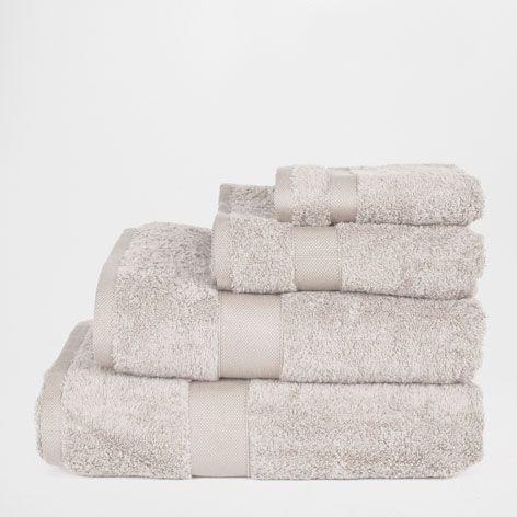 Handdoek van katoen egyptisch handdoeken en badjassen - Albornoz zara home ...