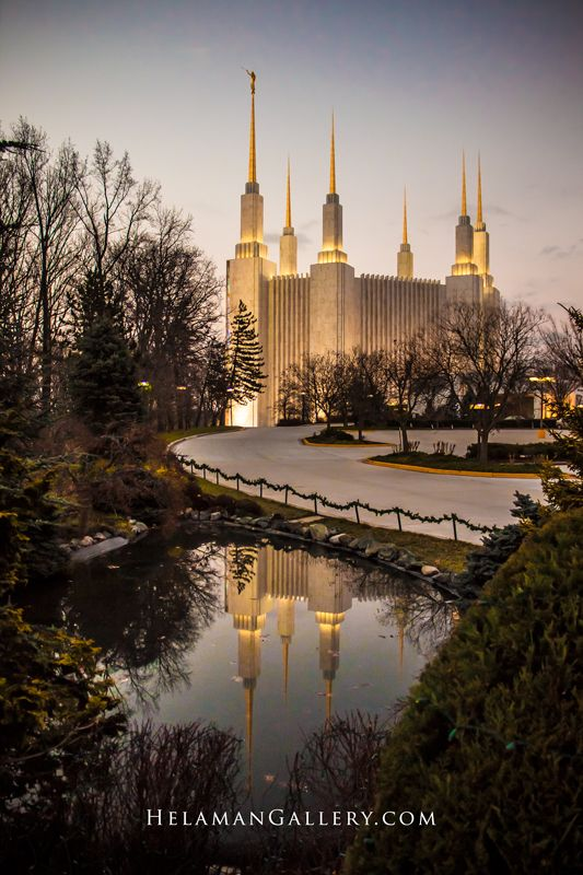 Washington DC Latter-day Saint Temple  That's my temple!